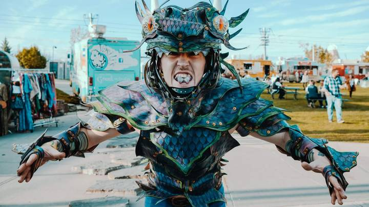 Man Spends £11,000 On Modifications To Look Like A Dragon