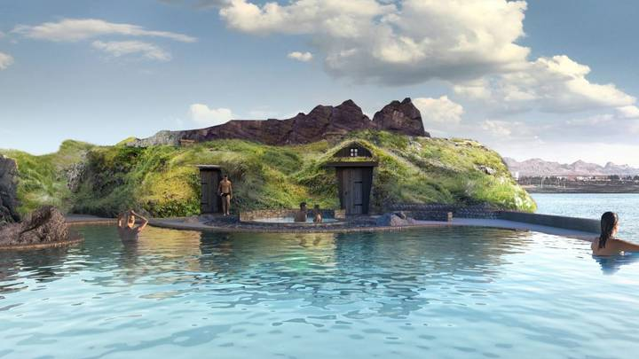 New Lagoon To Open In Iceland With Swim-Up Bar