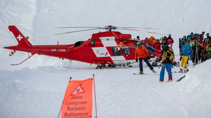 Skiers Thought To Have Been Buried Alive By Avalanches In Austria And Switzerland