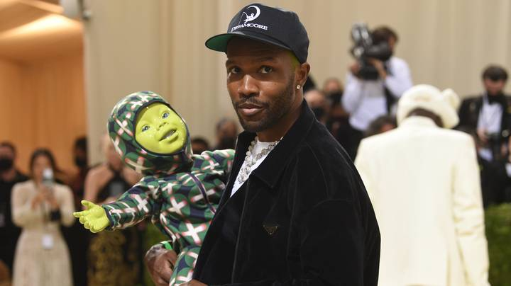 Frank Ocean Brought A Creepy Animatronic Baby On The Met Gala Red Carpet