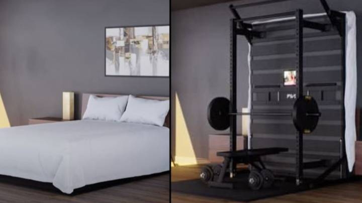 Fitness Company Creates Bed That Turns Into Gym