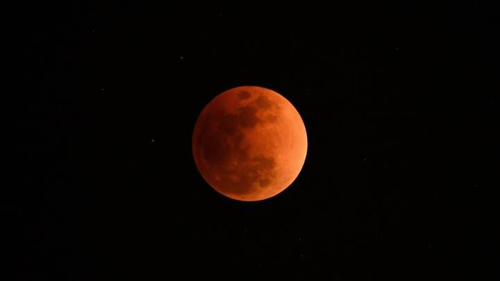 The Moon Is Set To Turn Blood Red In Total Lunar Eclipse