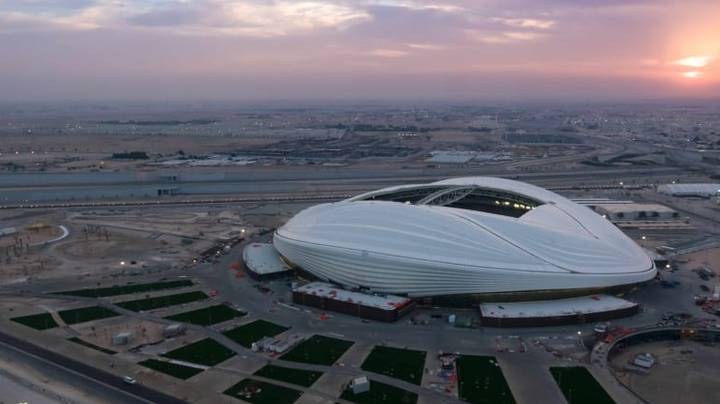 Qatar World Cup Stadium Revealed And People Think It Looks Like A Giant Vagina