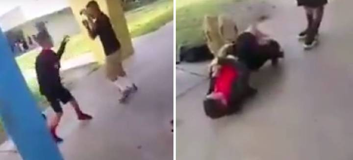 Bully Picks Fight With Wrong Kid And Gets Decked MMA-Style