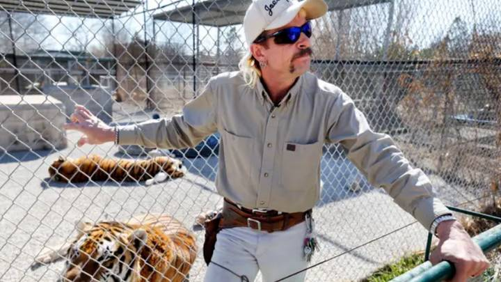 Joe Exotic Has Changed His Mind About Keeping Animals In Cages After Experiencing Prison