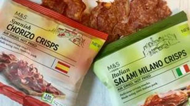 Marks and Spencer Has Launched A Range Of Meaty Crisps