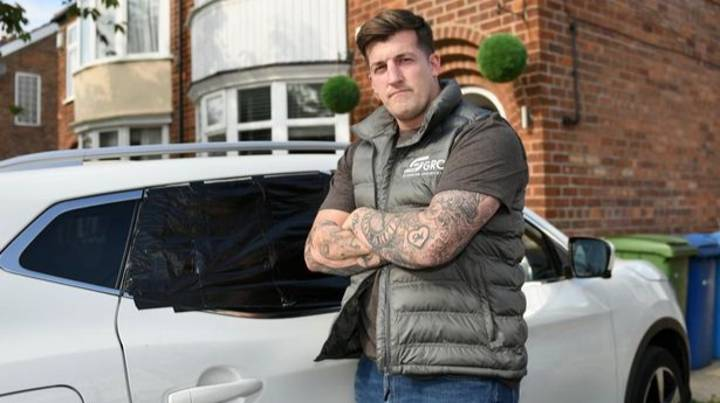 'Sneaky' Council Worker Accidentally Smashes Car Window Before Trying To Cover It Up