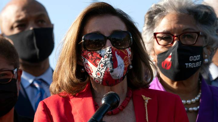 Nancy Pelosi Slammed For Saying George Floyd 'Sacrificed His Life For Justice'