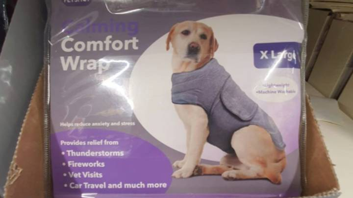 B&M Is Selling A Dog 'Calming Comfort Wrap' For Firework Season