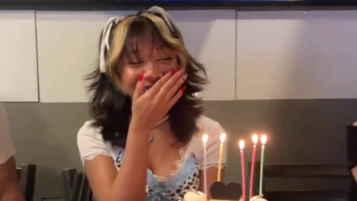 Stepmum Blows Out All Of Woman's Candles On Her Birthday Cake