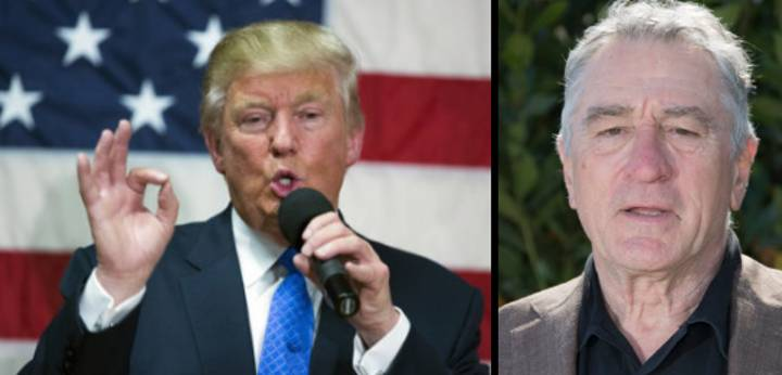 Robert De Niro Wants To Punch Donald Trump In The Face