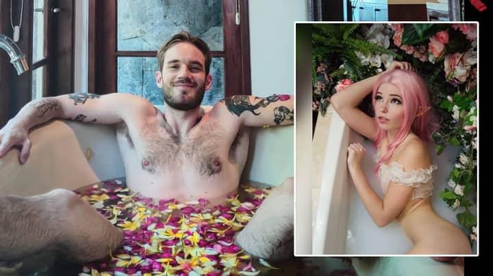 Will PewDiePie Start Selling Bathwater Like Instagram Model Belle Delphine?