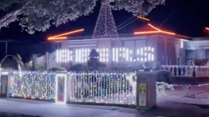 Melbourne Legend Syncs Christmas Lights To The 'Get On The Beers' Remix