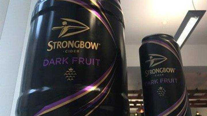 Strongbow Dark Fruits Kegs Are Now On Shelves In UK Supermarkets