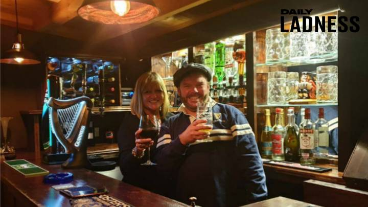 Bloke Builds Partner Incredible Garden Pub In Honour Of Her Late Parents