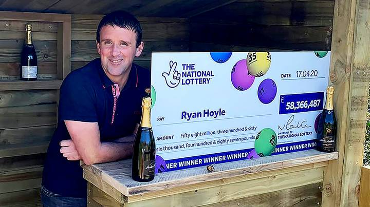 Self-Employed Dad Says Whole Family Can Retire After EuroMillions £58m Jackpot Win