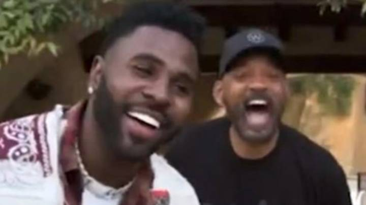 Will Smith And Jason Derulo Give Teen, 14, With Cancer A Surprise