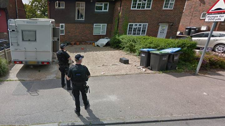 House Hunters Spot Armed Police Outside £375,000 Property On Google Maps