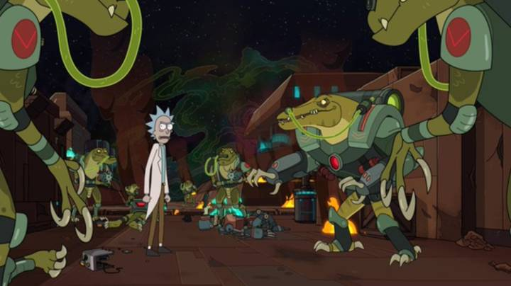 Check Out The First Images From Rick And Morty Season 4