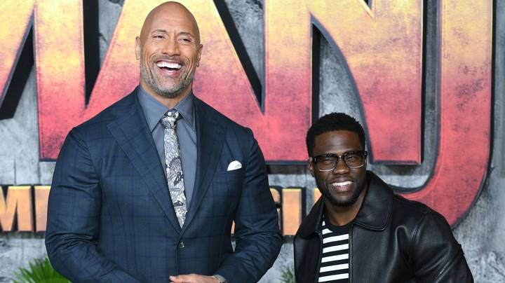 Dwayne Johnson Ends Honeymoon Early To Support Kevin Hart After Car Accident