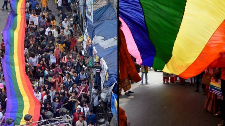 Emotional Celebrations In India As Top Court Legalises Gay Sex