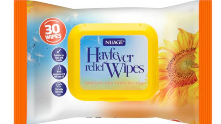 Hay Fever Sufferers Praise 'Life Saver' 99p Wipes