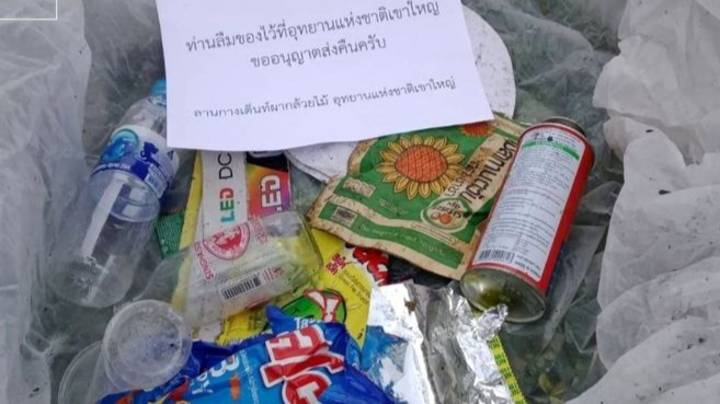 Thai National Park Mails Rubbish Back To People Who Have Littered