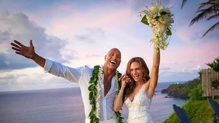 Dwayne 'The Rock' Johnson Marries Long-Time Girlfriend Lauren Hashian In Hawaii