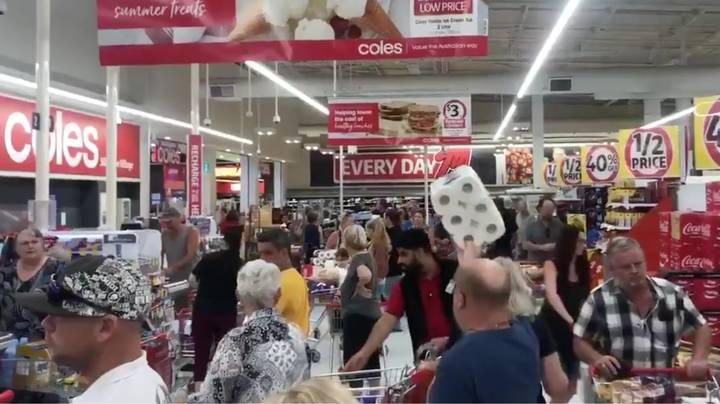 Greater Brisbane Residents Erupt In Panic Buying After Shock 3-Day Lockdown Announcement