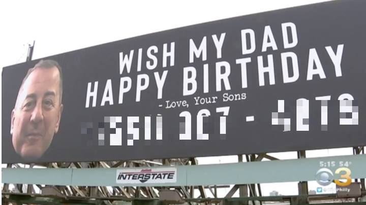 Dad Receives 15,000 Calls And Texts After Sons Put His Number On Billboard