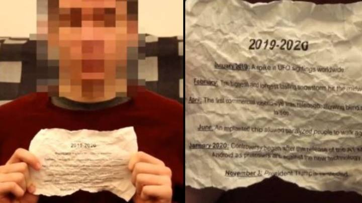 'Time Traveller From Year 2030' Has Some Very Specific Predictions For 2019