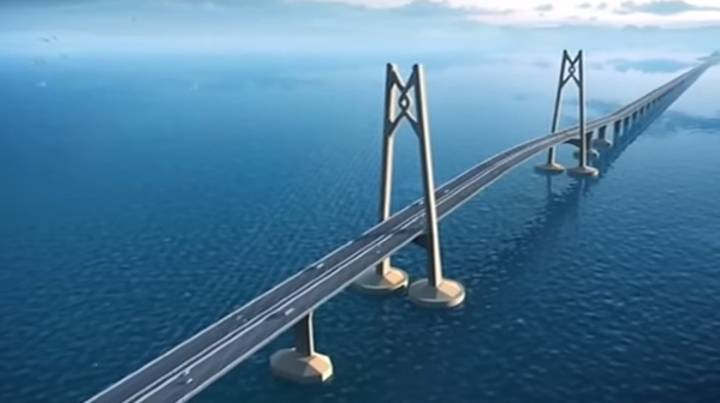 China Is About To Unveil A Huge Bridge Linking Hong Kong To The Mainland
