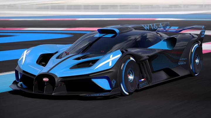 Bugatti Shows Off New Hypercar With Speeds Of More Than 300mph