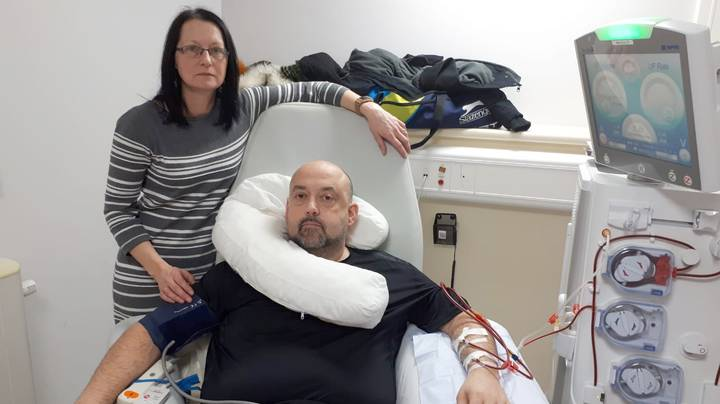 Husband Hours Away From Death Saved By Wife Who Donated Kidney On His Birthday