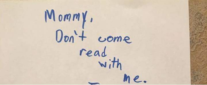 Angry Note From Boy Telling His Mum He'll 'Tuck Himself In' Goes Viral