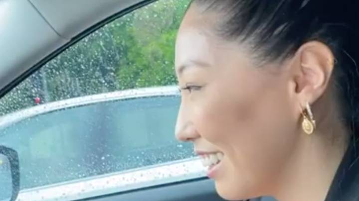 Aussie Woman Miraculously Keeps Her Cool As Spider Crawls Onto Her Steering Wheel