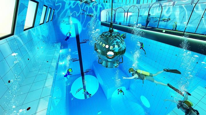 Deepest Pool In The World To Open In Poland This Year