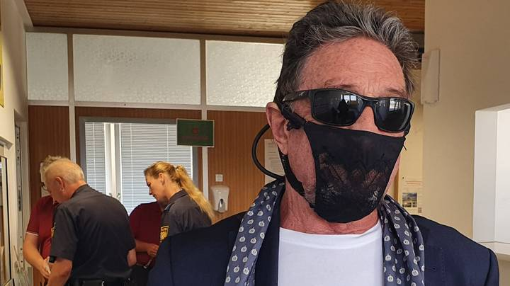 John McAfee 'Arrested In Norway' After Wearing Thong As Face Mask