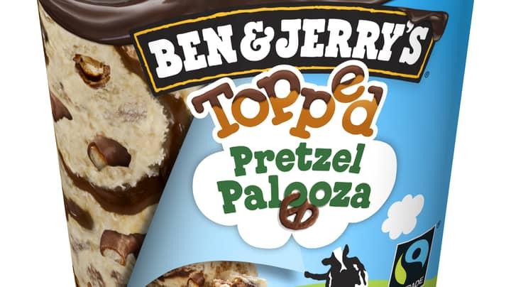 Ben & Jerry's Releases New Sweet And Savoury Pretzel Ice Cream