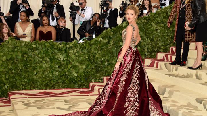 Blake Lively's Met Gala Outfit Had Secret Message To Ryan Reynolds