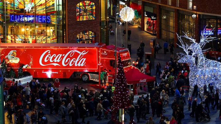 Coca-Cola Confirms Its Trucks Won't Be Doing Christmas Tour This Year