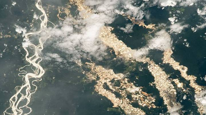 Incredible NASA Photo Shows 'Rivers Of Gold' In Peru