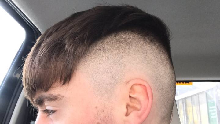 Scottish Teen Finally Goes To Barbers And Gets Very Dodgy Haircut