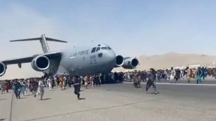 Human Remains Found In Wheel Arch Of US Plane That Left Kabul