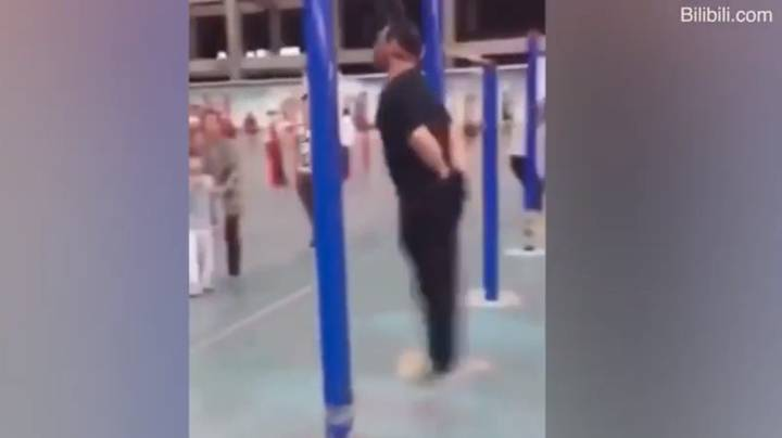 Chinese Pensioners Are Hanging Themselves In A Bizarre New Exercise Trend