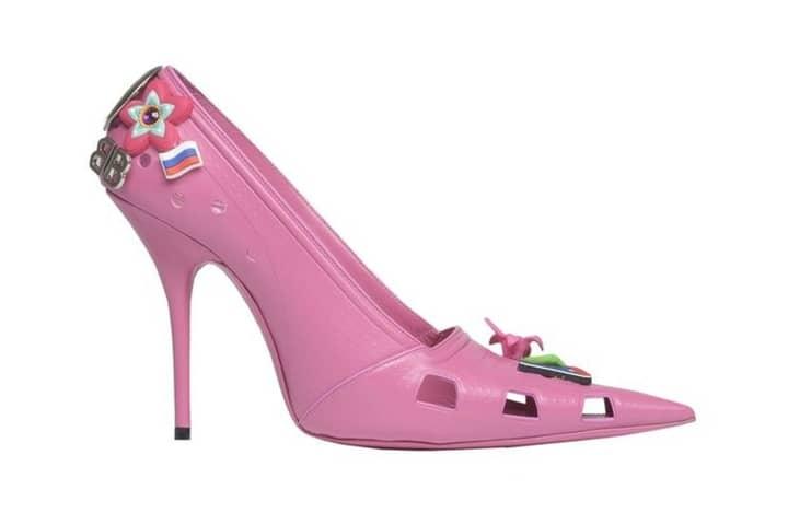 Balenciaga Has Made Croc Stilettos A Thing In The Fashion World