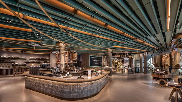 The World's Largest Starbucks Opens In Chicago