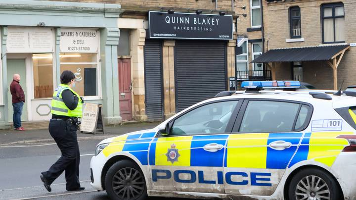 Police Greet Salon Owner Previously Fined £27k Ahead Of 'Great Opening'