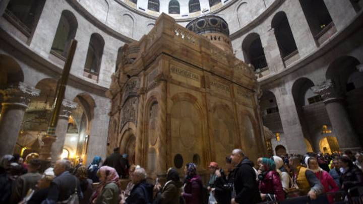 The Tomb Of Jesus Was Opened Up... And It's Amazing
