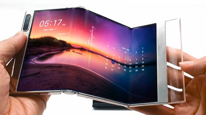 Samsung Unveils New Bi-Folding Phone Concept